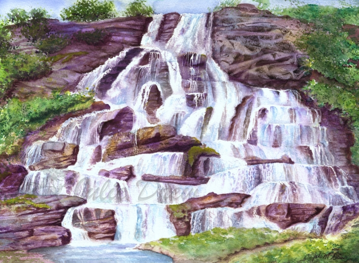 Saturation: Water Flowing -  Art Show